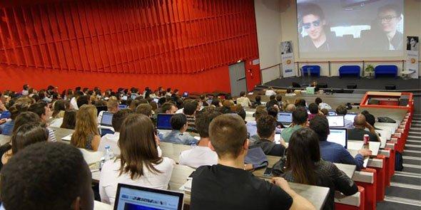 Des étudiants de la Montpellier Business School.