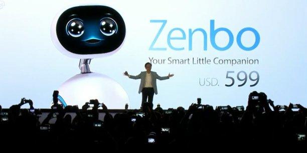 Le géant de l'informatique Asus attaque le marché du robot familial intelligent avec Zenbo.