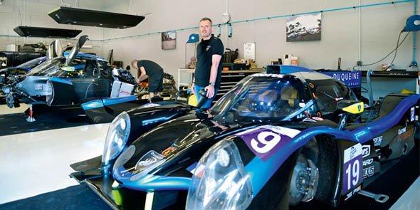 Le centre de formation de Duqueine Engineering sera équipé d'un simulateur de course