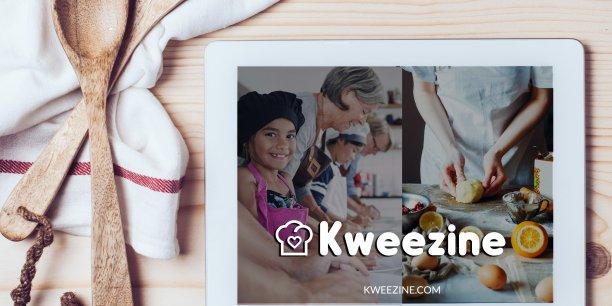 Kweezine s'adresse autant aux amateurs cuisiniers et gourmands qu'aux professionnels qui souhaitent partager leurs savoir-faire.