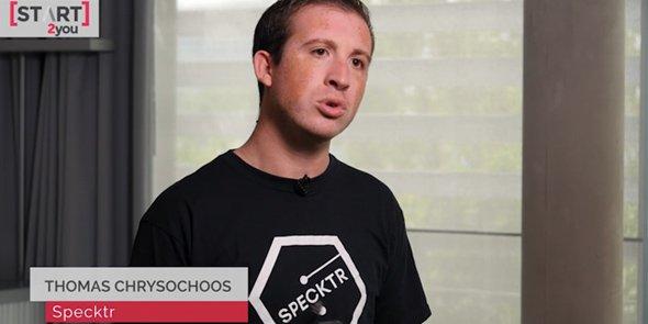Thomas Chrysochoos, co-fondateur de Spectkr, annonce un lancement pour l'automne