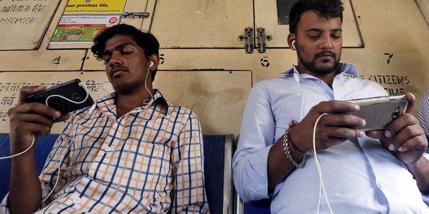 Seulement 22% de la population indienne a accès à Internet.
