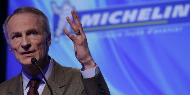Florent Menegaux dirigera Michelin à partir de la mi