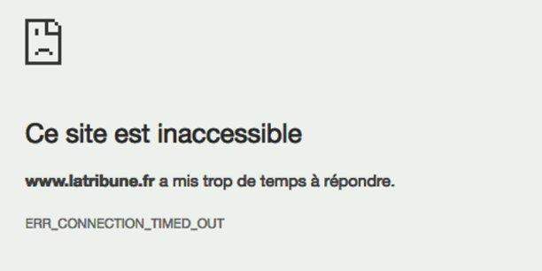 L'affichage du site de La Tribune a été gravement perturbé au cours du week-end.