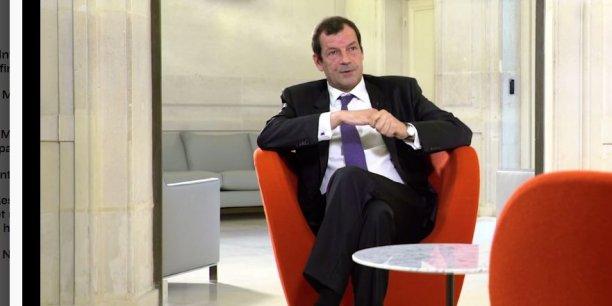 La patron de Covéa, Thierry Derez.