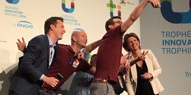 Remise des Trophées Engie de l'Innovation 2016.