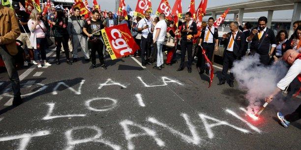 A ceux qui spéculent sur la démobilisation, a expliqué le leader de la CGT Philippe Martinez, nous allons faire la démonstration [du contraire] le 14 juin avec une mobilisation comme nous n'en avons jamais connue depuis quatre mois