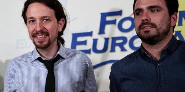 Pablo Iglesias et Alberto Garzon, les deux dirigeants de la gauche radicale espagnole, seraient les vainqueurs du scrutin du 26 juin. Mais gouverneront-ils ?