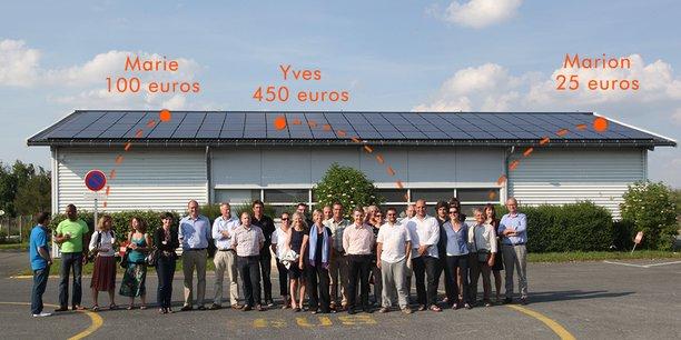 Lumo, pour sa part, veut tester la multiplication des SolarCoins et leur valorisation grâce au crowdfunding.