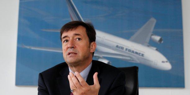 Franck Terner est entré à Air France en 19888