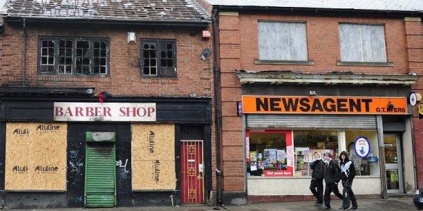 Une rue de Newcastle, dans le nord de l'Angleterre. C'est sans doute dans cette région que le Brexit va se jouer en grande partie.