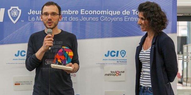 Alg & You a reçu lecoup de coeur de la Jeune Chambre Économique