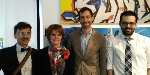 Thomas Boisserie, Nathalie Caule, Julien Cœurdevey et Matthieu Tanty
