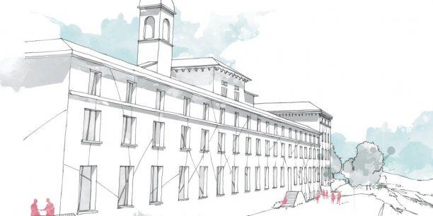 L'architecte Marie Adilon a été désignée pour concevoir ce nouvel établissement.