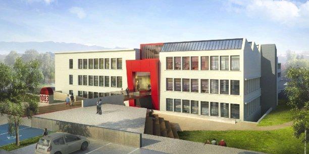 Le futur site de l'ex usine Jourdan.