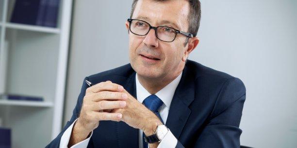 Olivier Millet, le président de France Invest, l'ex-AFIC, l'association professionnelle des acteurs du capital-investissement en France, est également président du directoire du fonds Eurazeo PME.