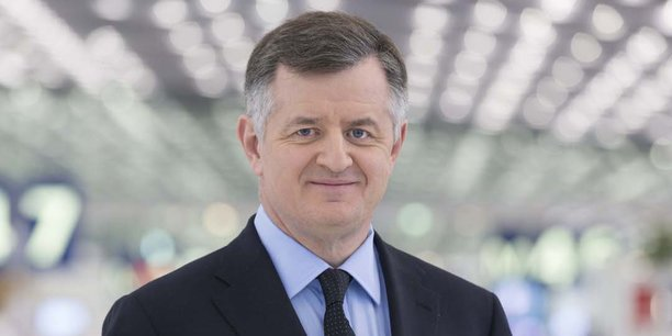 Augustin de Romanet, PDG du groupe Aéroports de Paris.