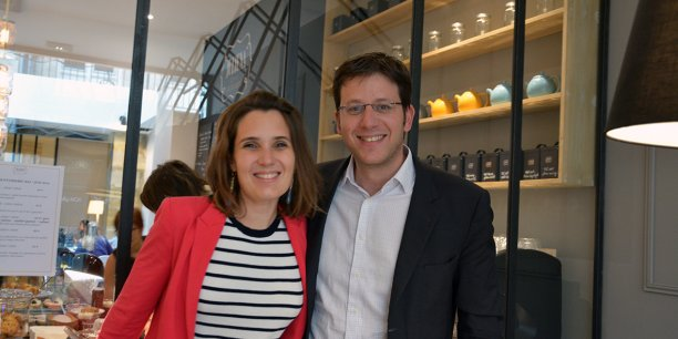 Sophie Ancely et Francis Barel