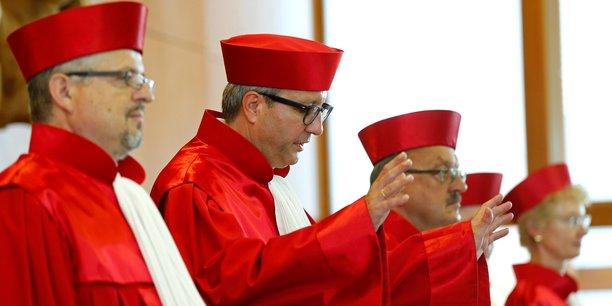 Les juges de Karlsruhe ont dû s'admettre vaincus par la Cour de Luxembourg.
