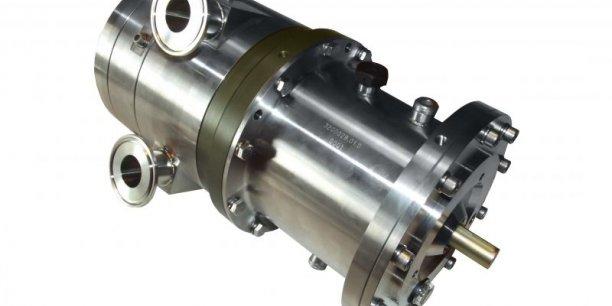 Une partie du système EVE développé par Exoès pour un grand constructeur français souhaitant étudier les pertes thermiques contenues dans l'échappement d'un véhicule hybride