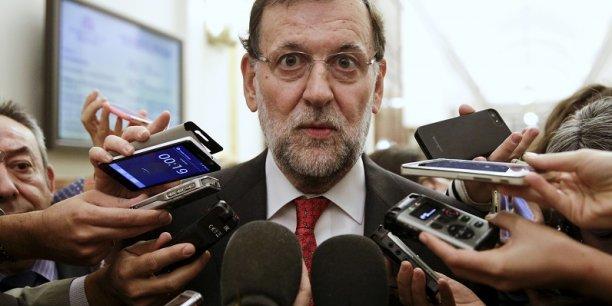 Mariano Rajoy est touchée par un scandale politique en Catalogne