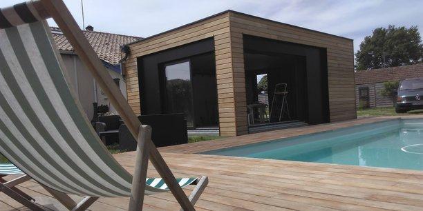 Icube le cube sur mesure pour agrandir sa maison for Maison cube en bois