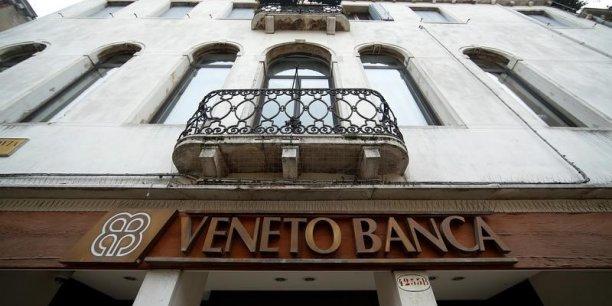 Intesa et UniCredit seraient prêtes à venir à la rescousse des deux banques vénitiennes au bord du gouffre dont la liquidation.