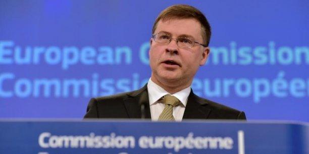 « L'Europe a besoin d'un secteur bancaire solide et diversifié pour financer l'économie » a insisté Valdis Dombrovskis, le commissaire chargé de la stabilité financière et de l'Union des marchés de capitaux.
