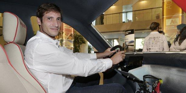 Gaël Lavaud, créateur de l'entreprise Gazelle Tech, qui conçoit des véhicules électriques avec un châssis en matériaux composites, est l'un des lauréats 2016 de Réseau Entreprendre Aquitaine.