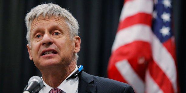 Gary Johnson se présente pour la deuxième fois à l'élection présidentielle américaine.
