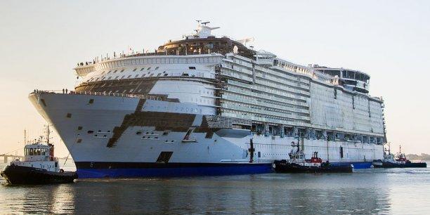 Si les Chinois veulent devenir un acteur important de la construction de bateaux de croisière, le chantier de Saint-Nazaire est la cible rêvée