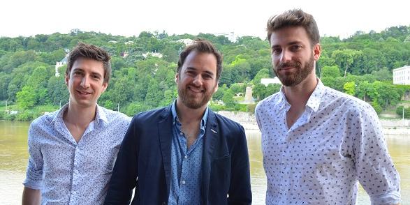 Thomas Dickelé, Vincent Mendes et Jean-Baptiste Esbelin cherchent avec Entr'UP à créer des relations pérennes entre associés.