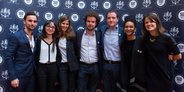 L'équipe d'HelloAsso, ici lors de la Social Good Week