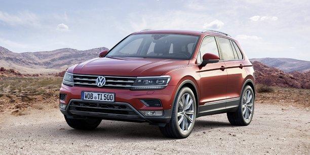 Le Volkswagen Tiguan pourrait être le meilleur ennemi des Audi Q5 et Q3, pourtant filiale du groupe.