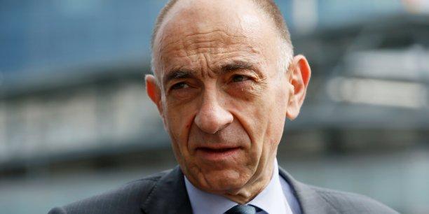 Jean-Marc Janaillac, le PDG d'Air France-KLM