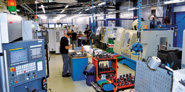 L'usine du sous-traitant aéronautique ADB.