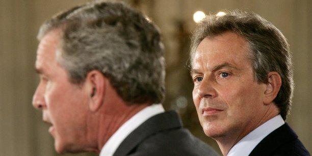 Je serai avec vous quoi qu'il arrive avait écrit Tony Blair à George W. Bush.