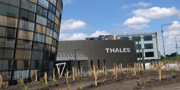 Le nouveau campus de Thales à Mérignac s'étend sur 55.000 m2 au coeur d'un site de 16 hectares