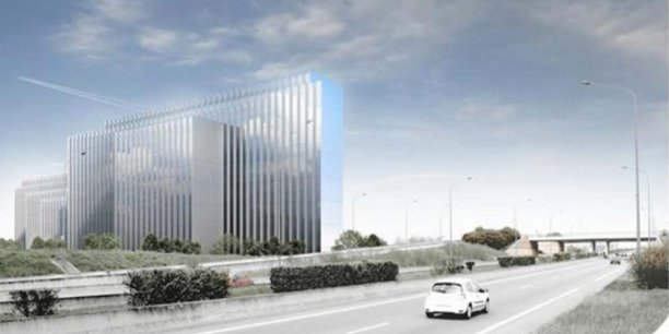 Le futur immeuble de Stelia
