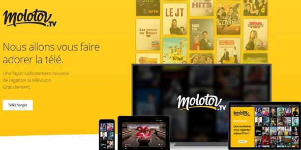 Molotov vise un usage sur ordinateur, tablette ou mobile, mais se voit aussi comme l'interface TV des télés connectées directement à internet ou via l'Apple TV.