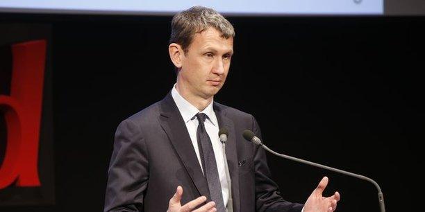 Maxime Lombardini, le DG d'Iliad, maison-mère de Free, l'opérateur de Xavier Niel.