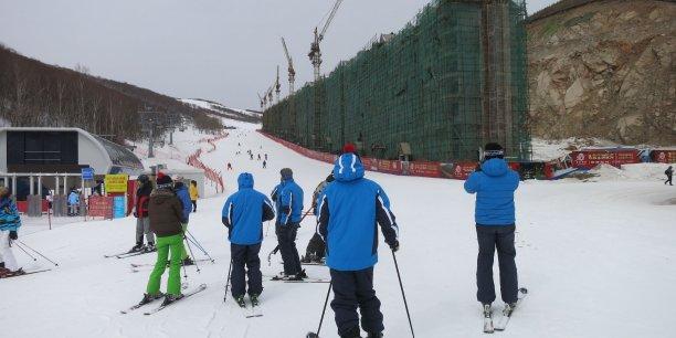 En Chine, les travaux ont commencé pour préparer les Jeux d'hiver de Pékin en 2022.