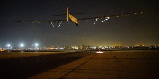 Solare Impulse 2 a décollé cette nuit du Caire pour sa dernière étape vers Abou Dhabi