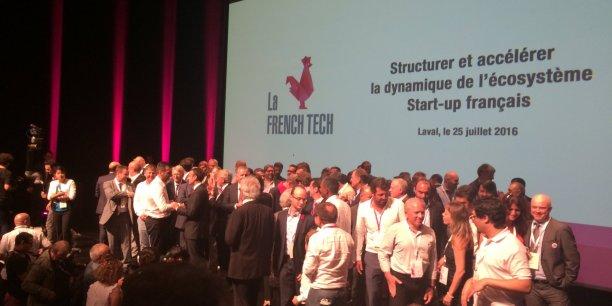 Les écosystèmes French Tech avaient rendez-vous à Laval.