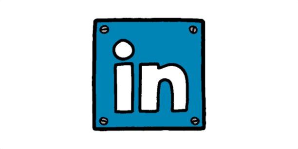 Logo LinkedIn redessiné.Jurgen Appelo www.noop.nl,CC BY