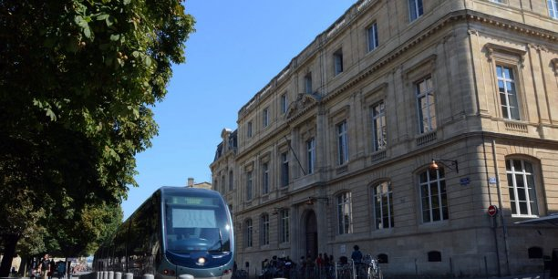 L'Université de Bordeaux (ici le pôle juridique et judiciaire) fait partie des membres fondateurs de la Comue d'Aquitaine.