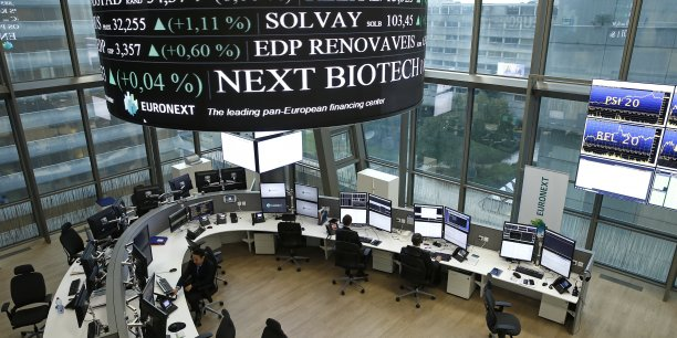 LEAD 1-Euronext-Placement de 6,3% détenus par BNP Paribas et SocGen