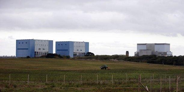 La centrale nucléaire d'Hinkley Point en Grande Bretagne.