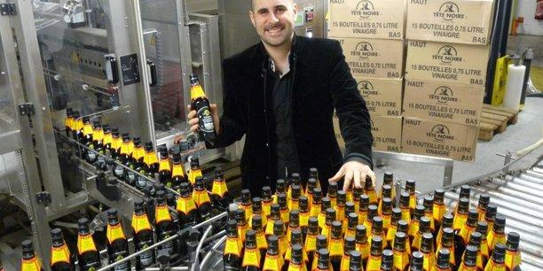 Stéphane Douence, directeur commercial de la Vinaigrerie générale