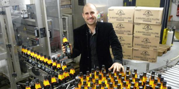 Stéphane Douence, directeur commercial de Tête Noire - Grand Ménage, des marques dont les ventes progressent d'au moins 10 %  chaque année depuis 2011.